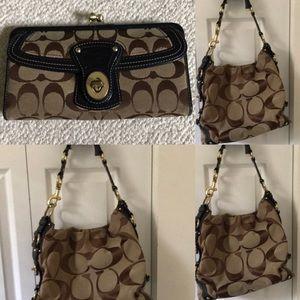 Coach wallet & bag- see full individual listings